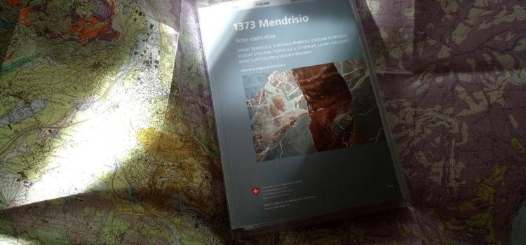 """Sul nuovo foglio """"Mendrisio 1373"""" della carta geologica svizzera"""